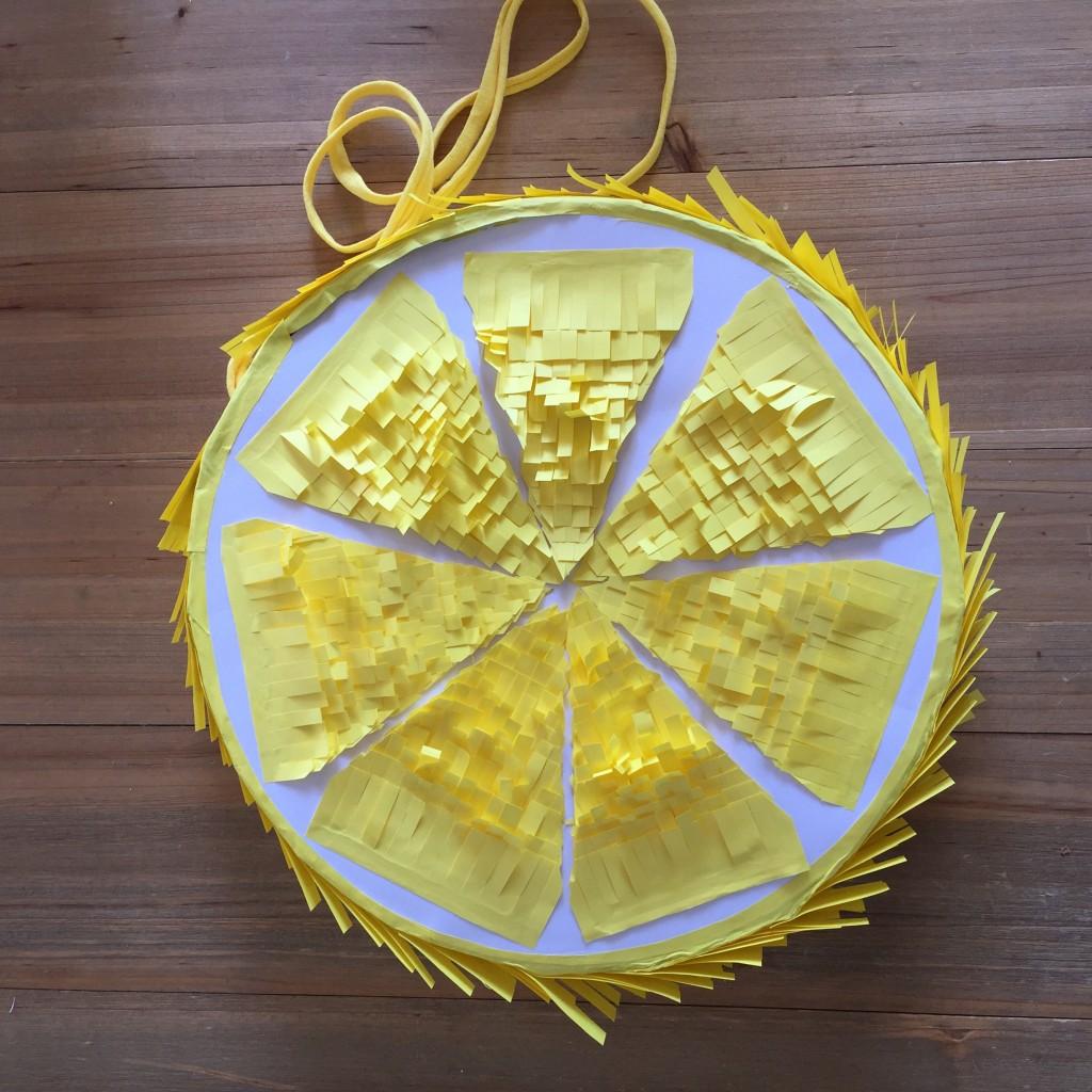 Pinata citron 2