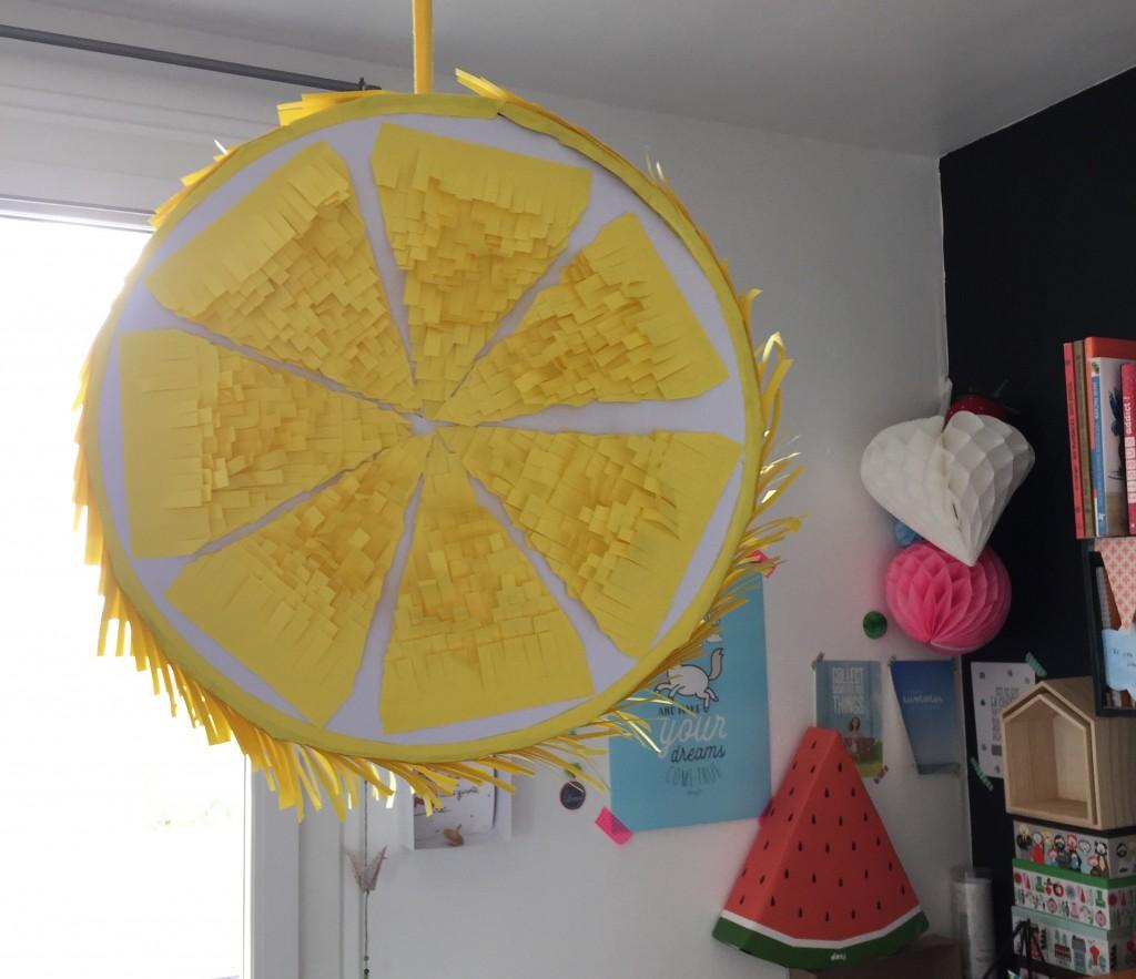 Pinata citron