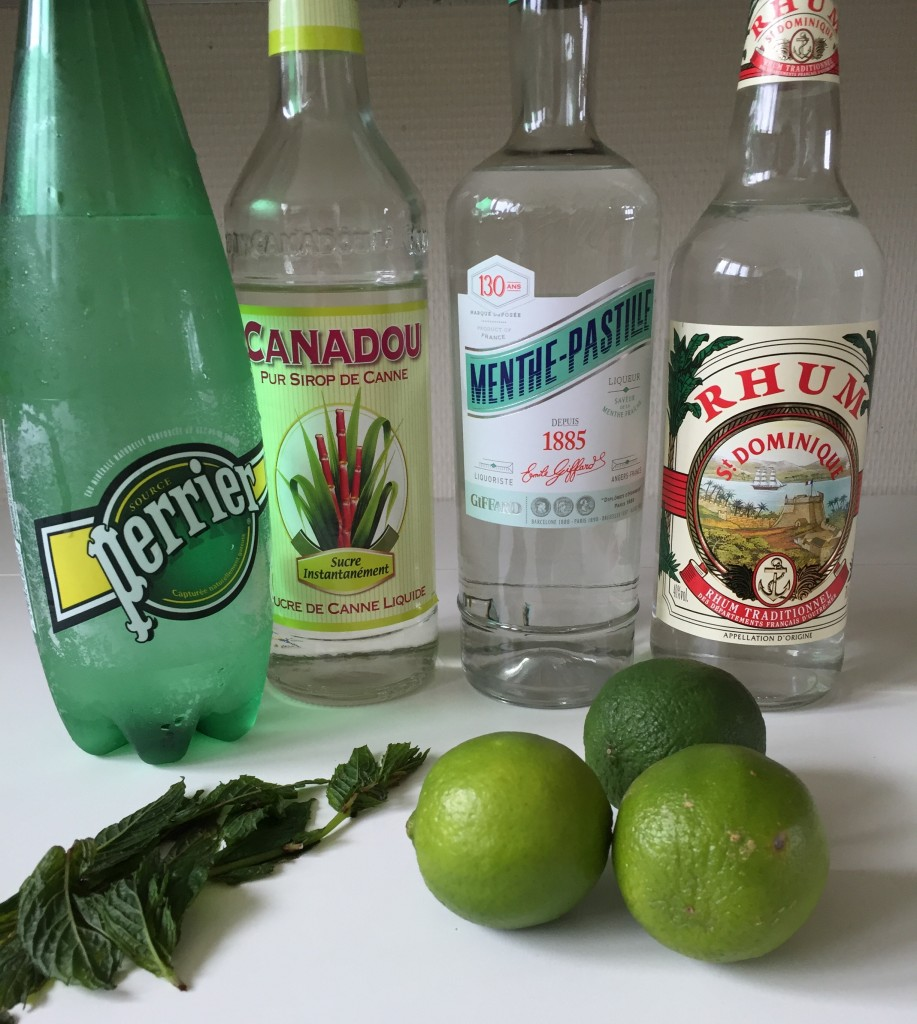 Ingredients-mojito
