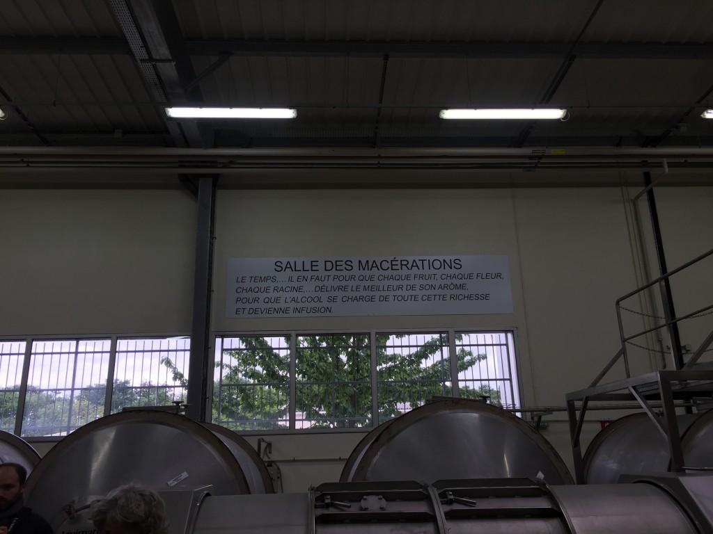 salle de macération