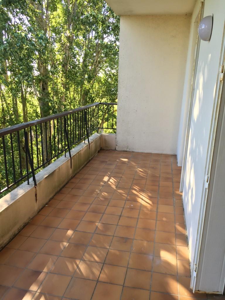 balcon avant