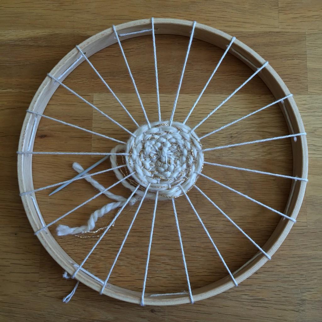 laine tissage circulaire
